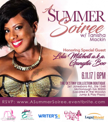 A Summer Soiree Flyer