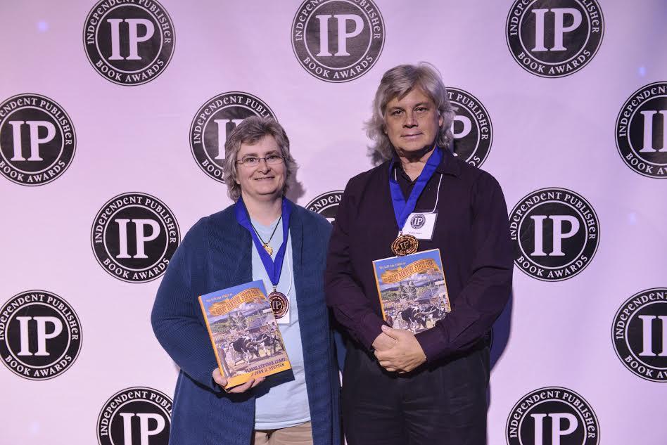 Emerald Lake Books Publisher Tara Alemany & Art Director Mark Gerber IPPY Award