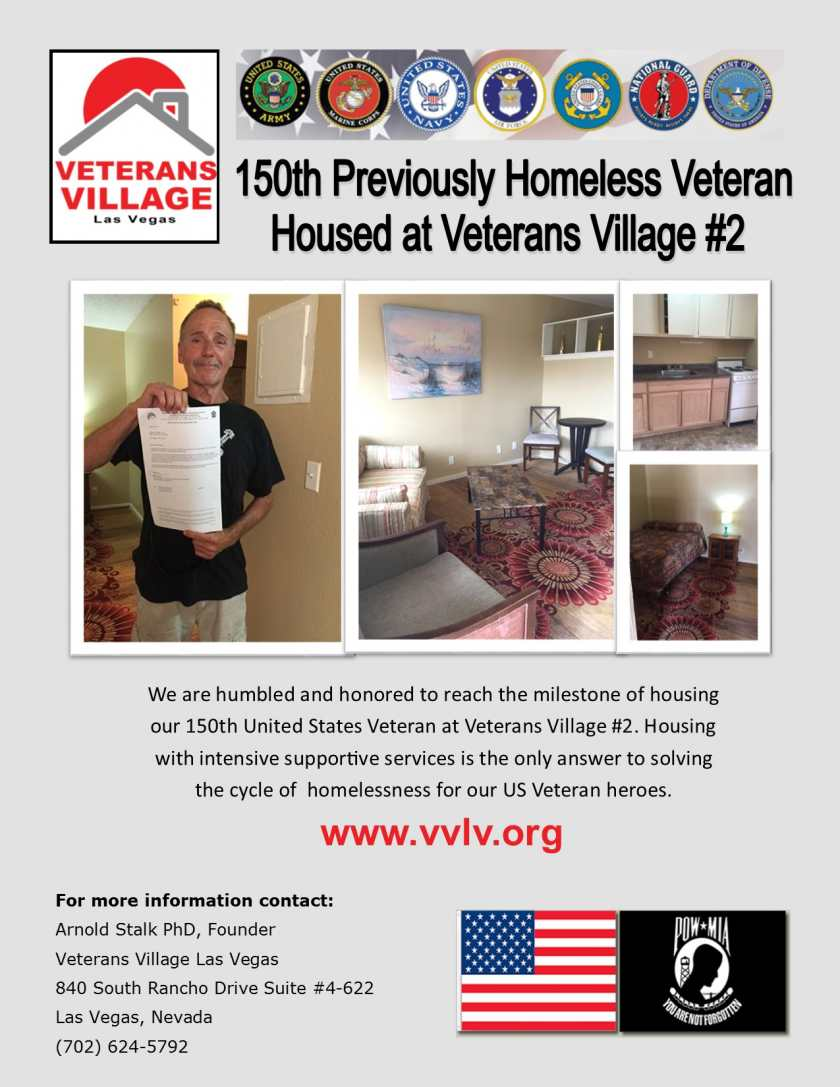 150th Resident Veterans Village #2 Las Vegas, NV
