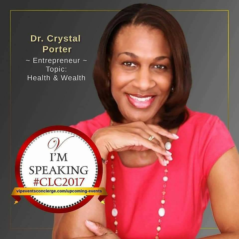 Dr. Crystal Porter, CEO Of ManeInsights.com Speaks at #CLC2017