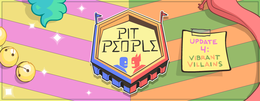 Pit People Update 4 Banner