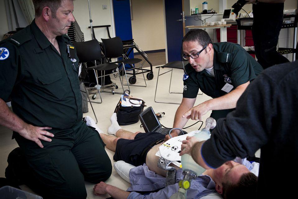 Royal Infirmary of Edinburgh's emergency ultrasound training programme
