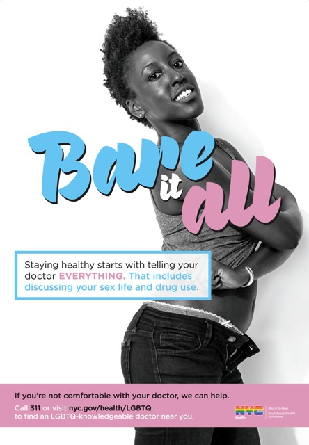 "Founder, Verneda Adele White featured in ""Bare It All"" ad campaign"