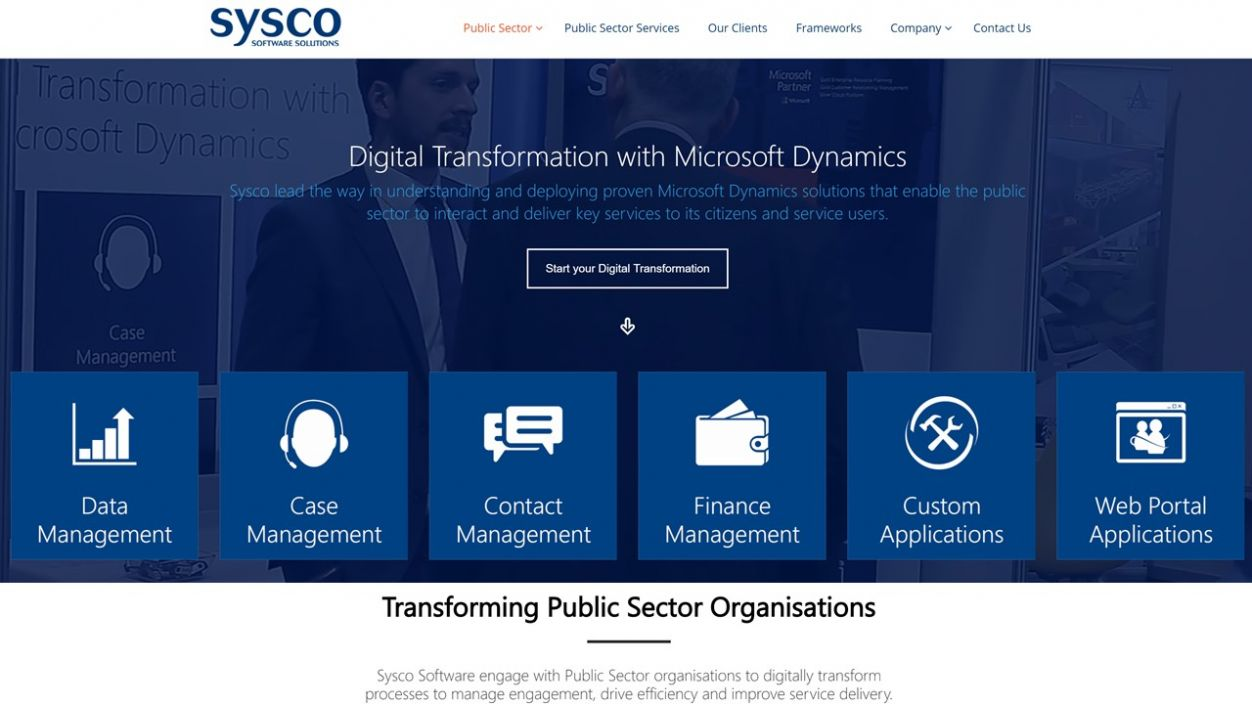 Sysco Software's Public Sector Digital Transformation with Microsoft Dynamics