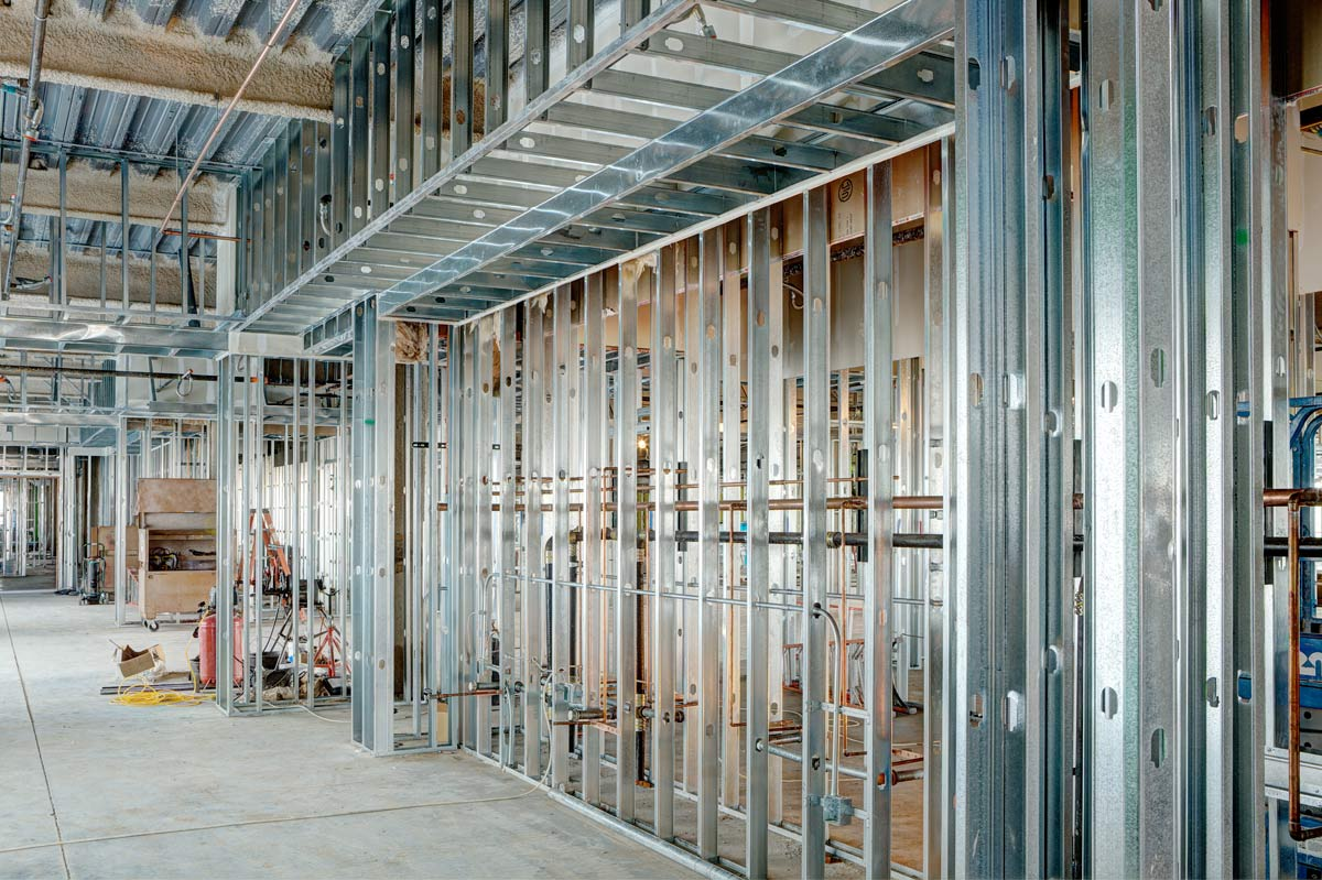 Construction Design Works - office construction