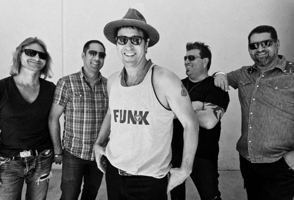 Rob Morrow Band 2017 (Photo credit: John Ales)
