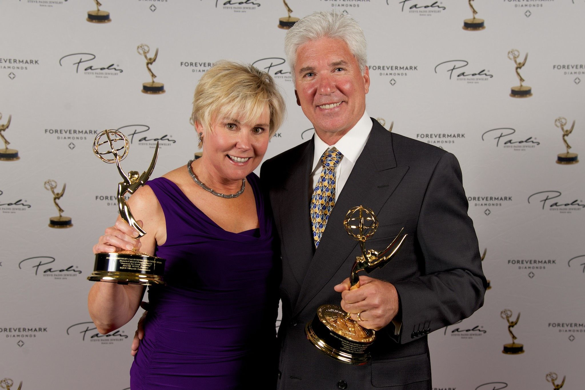 Steve and Joanie Wynn win multiple Emmy awards