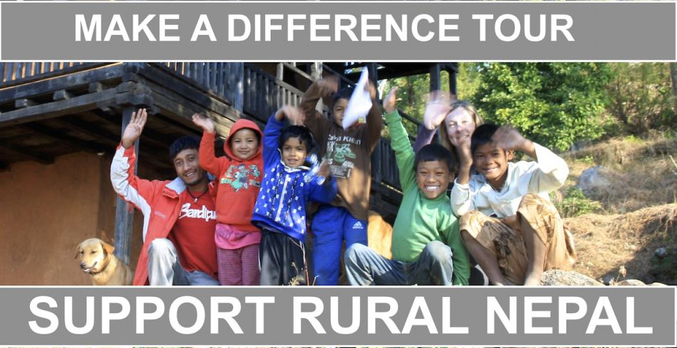 Make a Difference Tour- Support Rural Nepal