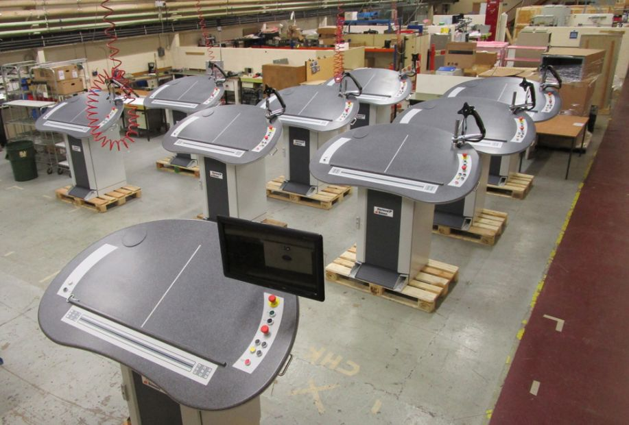 P7000 control consoles for Jackson & Louisville