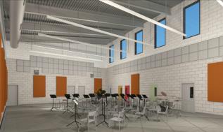 New Music Building, Carmel Valley Middle School – San Diego, CA