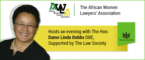 Dame Linda Dobbs Banner Eventbrite