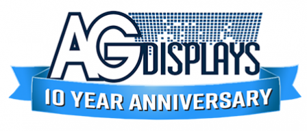 AGDisplays is celebrating 10 years!