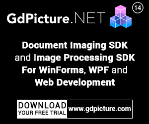 GdPicture.NET Document Imaging SDK