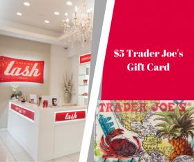 Trader Joe's Gift Card Amazing Lash Studio