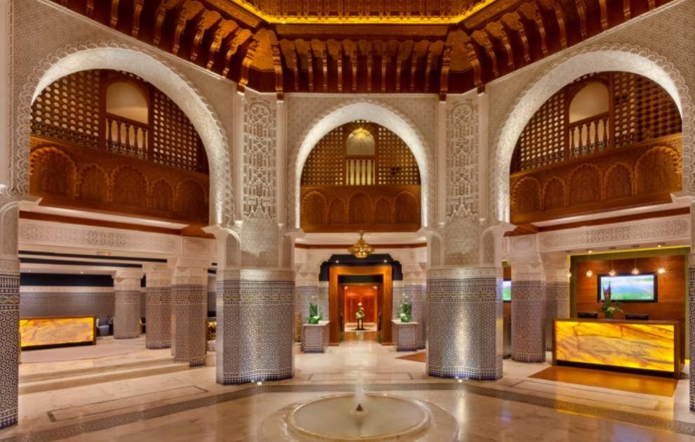 Palmeraie Palace 5* Hotel, Marrakech