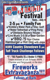 Lake County Fairgrounds 4th of July Festival
