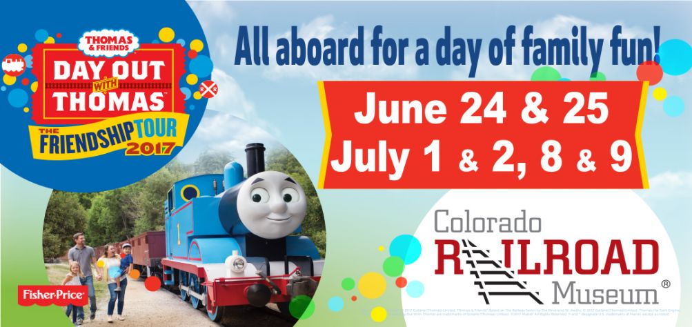 Day Out With Thomas at Colorado Railroad Museum
