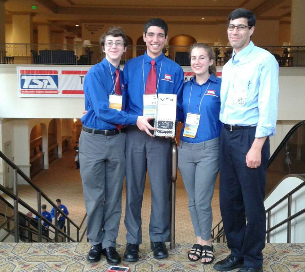 VEXMEN Team 91C Cyclops Named National Champions at TSA National Conference