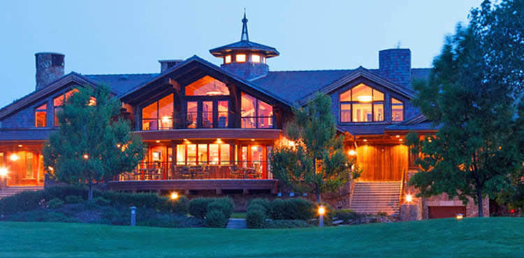 The Clubhouse at The Powder Horn Golf Club, Sheridan WY