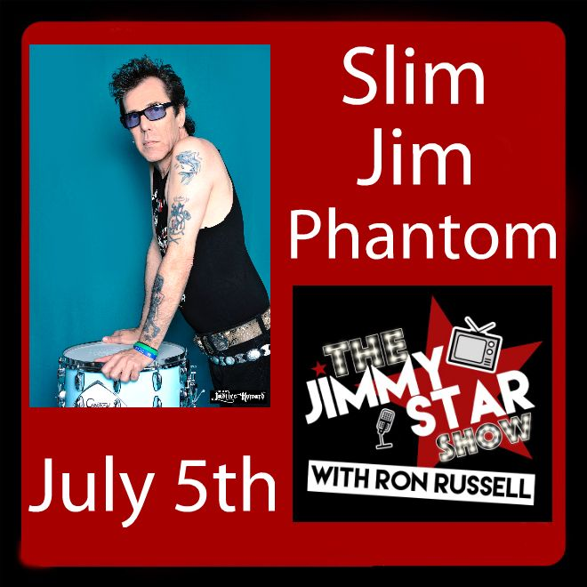 Slim Jim Phantom On The Jimmy Star Show With Ron Russell