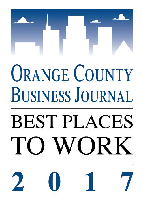 OC Best Places to Work 2017
