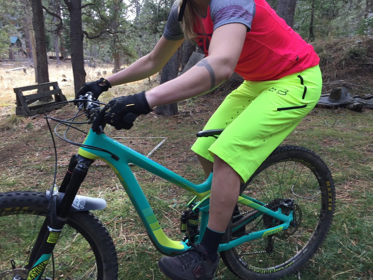 Women S Mountain Bike Shorts Are Put To The Test In The Latest