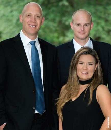 Best Mortgage Professionals (from left to right) Jannasch, Vejman, Benson