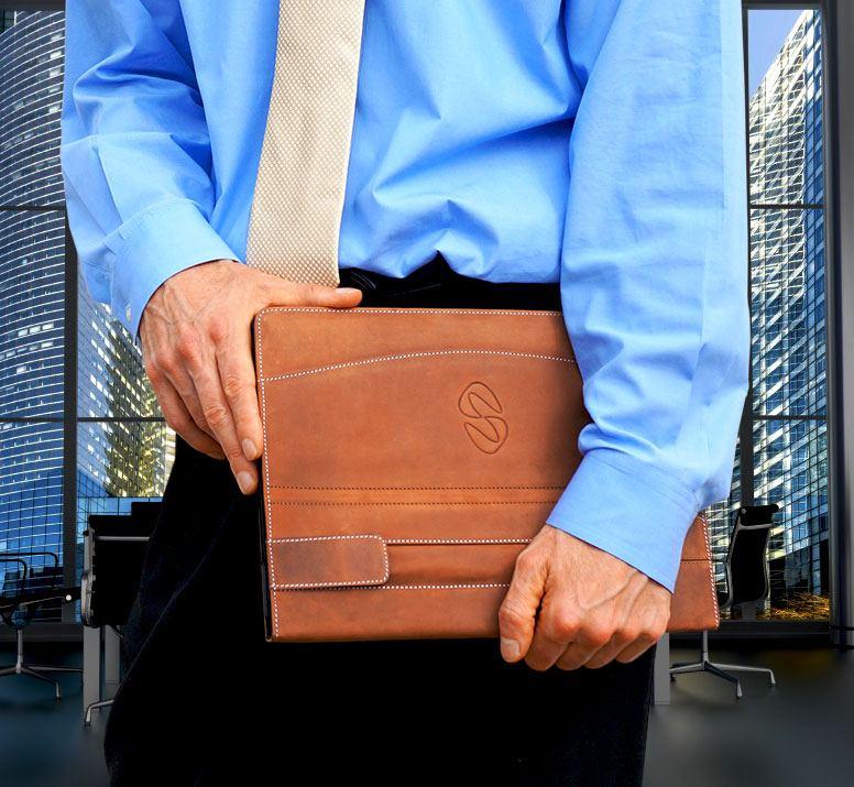 MacCase Premium Leather iPad-Pro 12.9 Folio