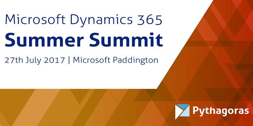 Microsoft Dynamics 365 Summer Summit