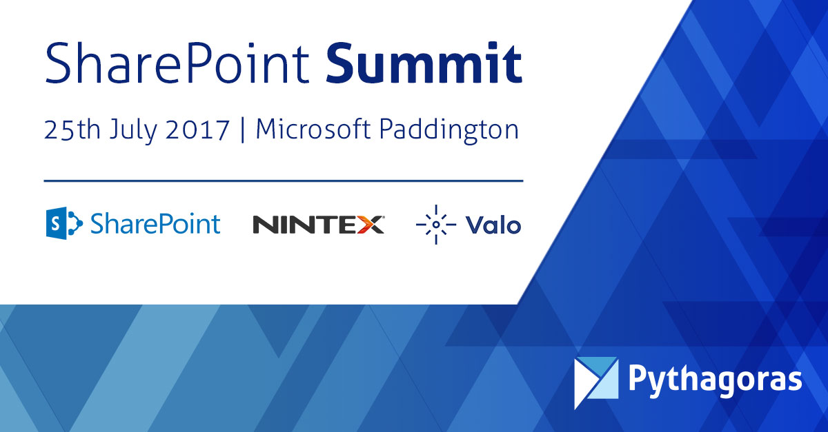 SharePoint 2016 Summit Event London