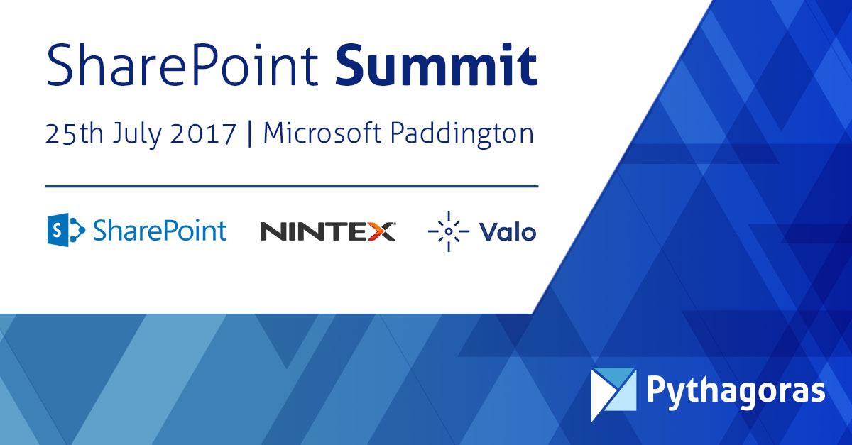 SharePoint 2016 Summit Event London