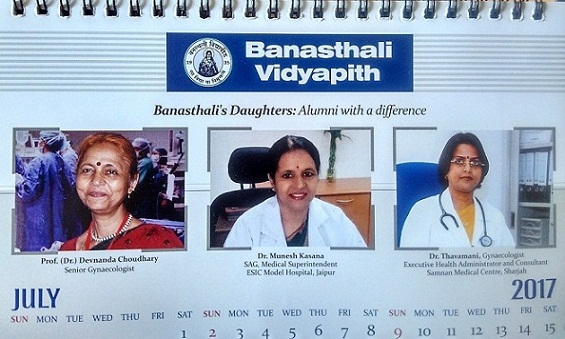Banasthali's Daughters in Medicine Healthcare indeed Alumni with Difference