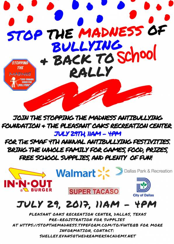 Stop the Madness of Bullying Event