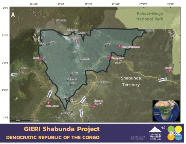 Shaunda Forest Carbon Project Area