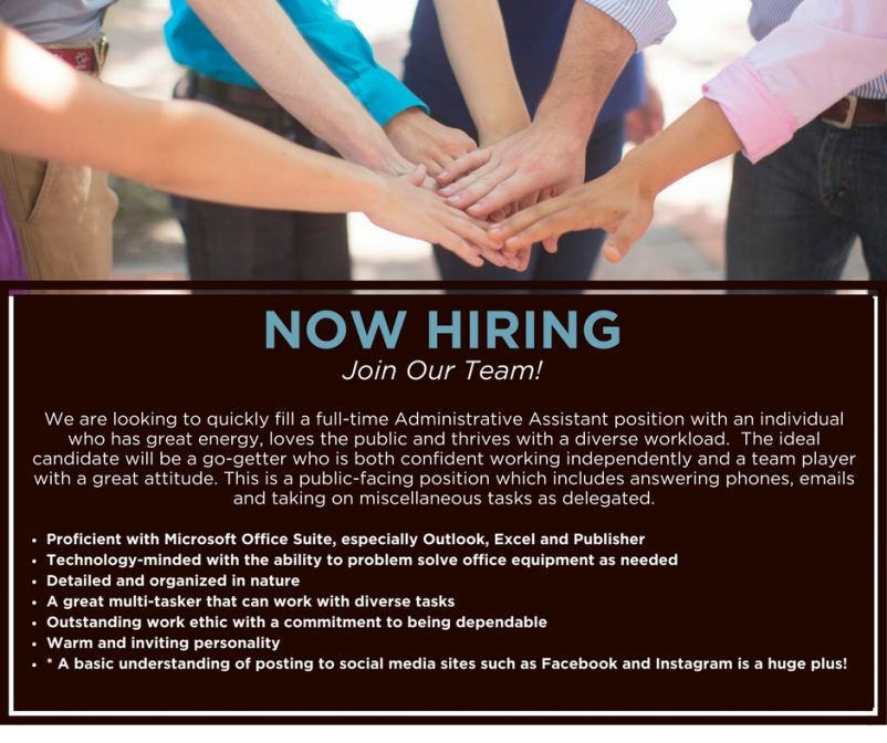 Join our amazing team!