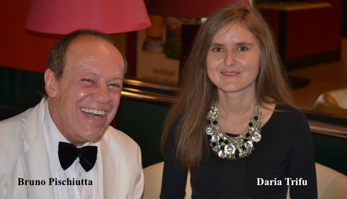 Bruno Pischiutta and Daria Trifu