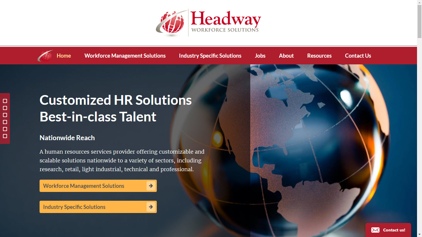 Headway's New Website - headwaywfs.com