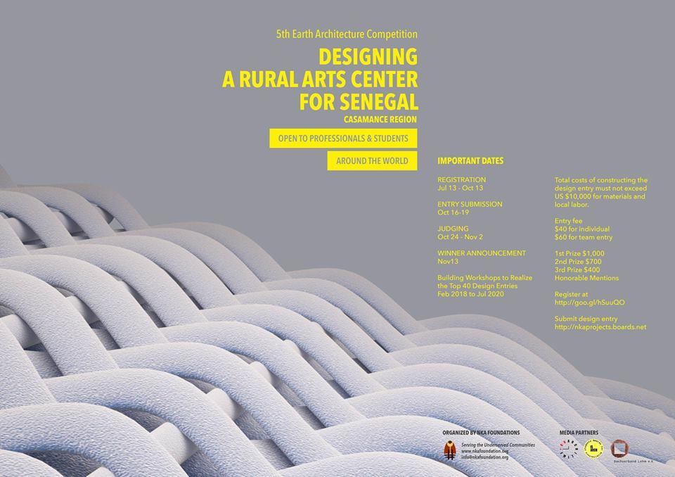 Designing a Rural Arts Center for Senegal