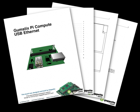 Free Gumstix Pi Compute Module USB Ethernet Technical Specifications