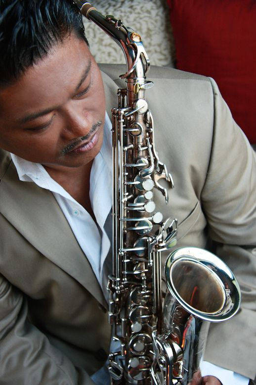 Saxophonist Dean James