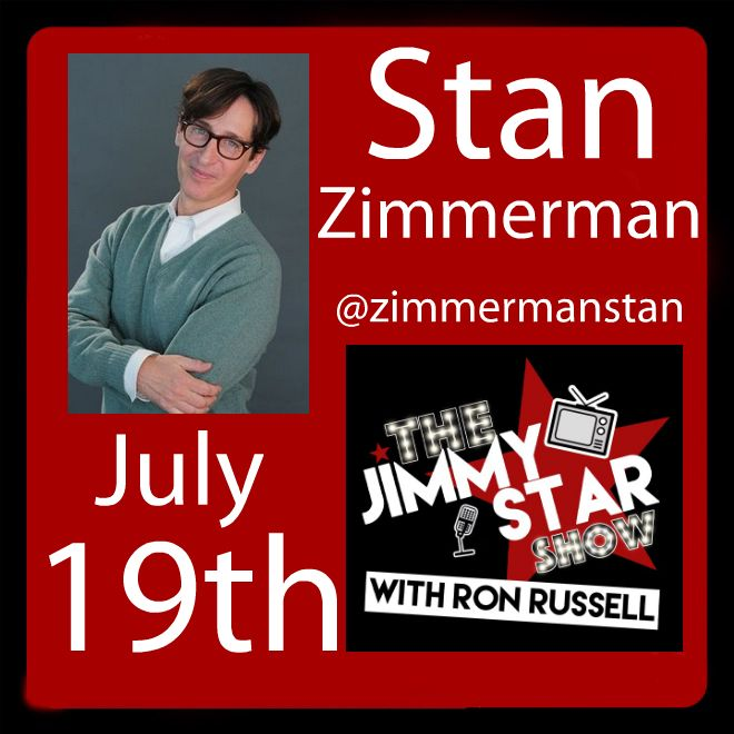 Stan Zimmerman On The Jimmy Star Show With Ron Russell