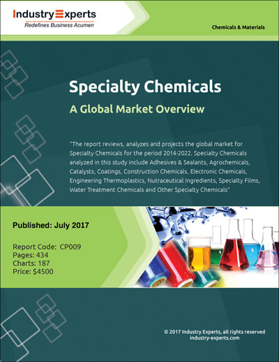report on the specialty chemicals industry in india 1 day ago the indian chemicals sector is a market worth about usd 160 billion, with specialty chemicals representing about 20 per cent of the value we expect the specialty chemical sector to grow by about 10 per cent annually to almost double the market size by fy25, india ratings report on 'fy19 outlook:.