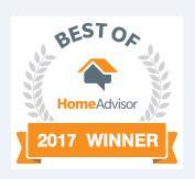 2017 Best of HomeAdvisor Award