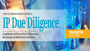 IP Due Diligence November 2 - 3, 2017 Hyatt at the Bellevue, Philadelphia, PA
