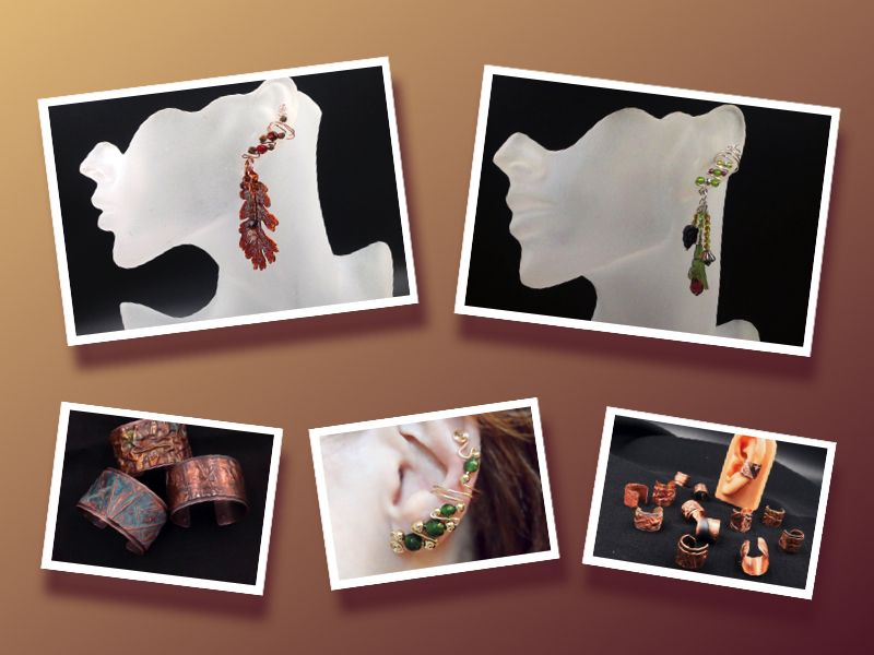 Designs from Elegant EarCuffs by Fiona
