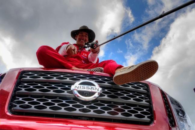 Kayaker, Pro Fisherman, Eric Jackson Drives Nissan TITAN ...