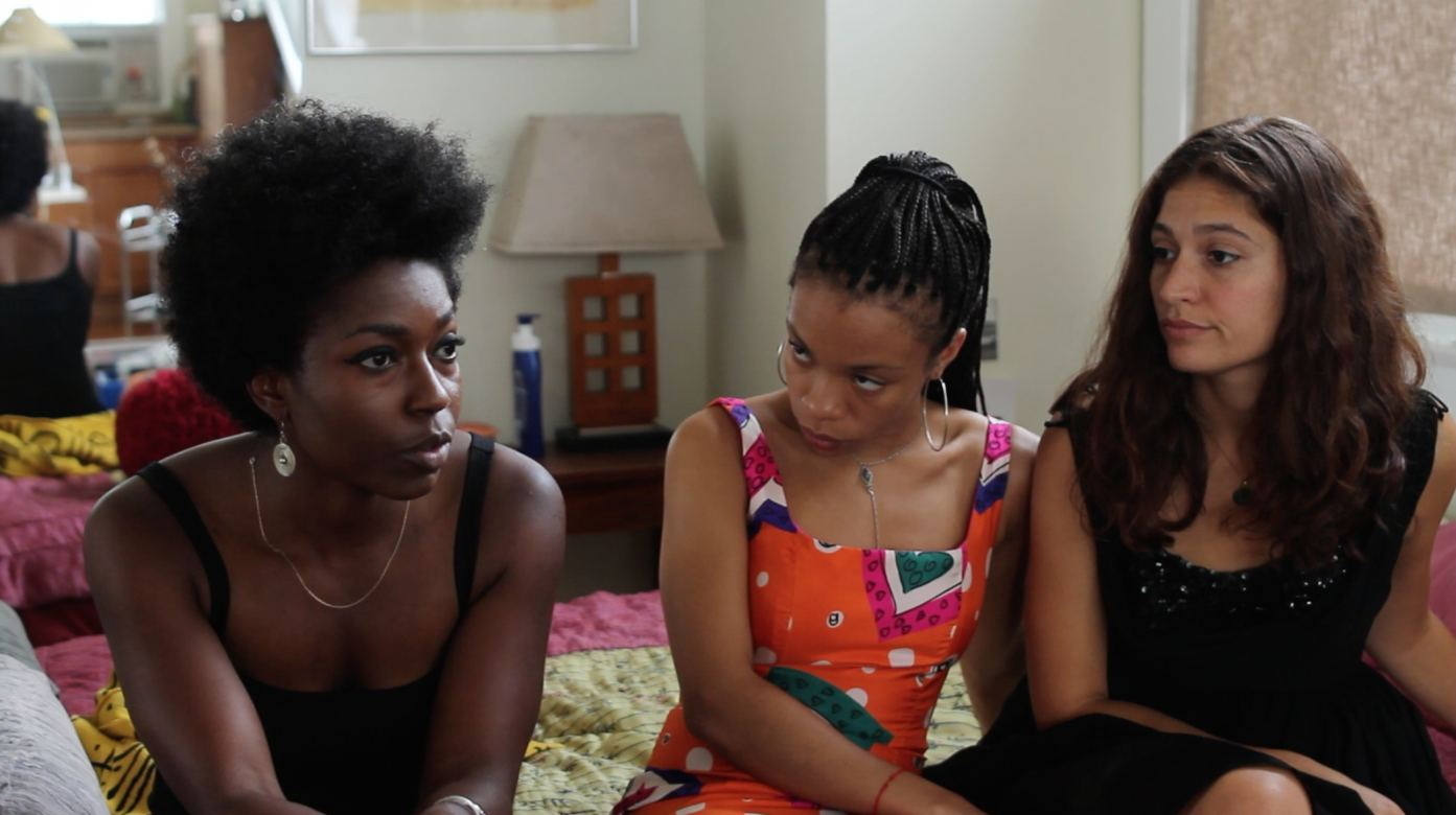 Still from short film Las Chicas