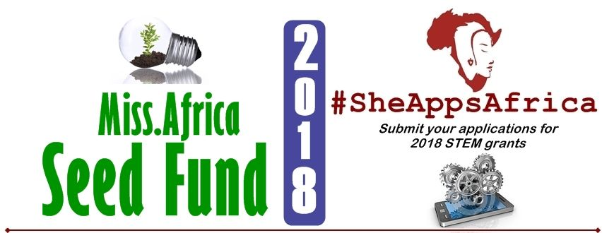 Miss.Africa Seed Fund 2018 open