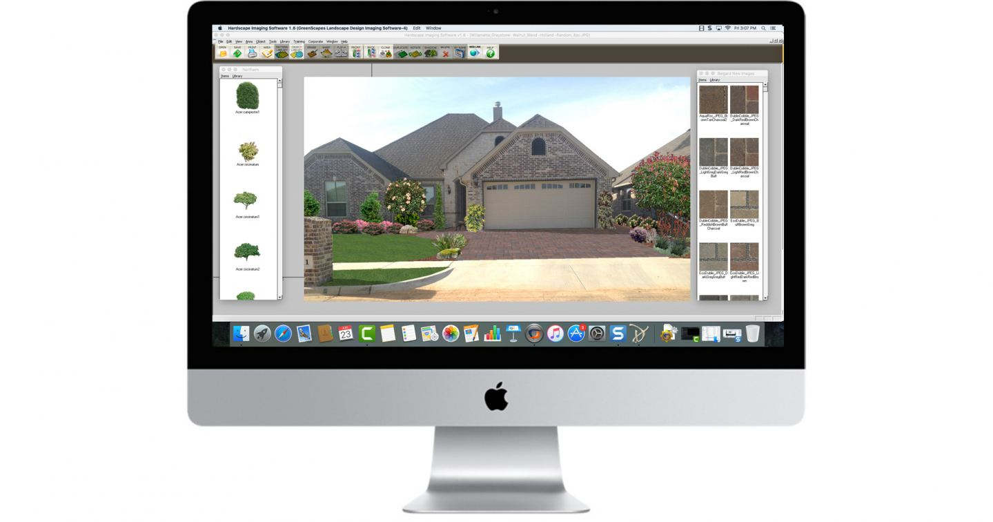 Hardscape Imaging Software on a Mac with CrossOver