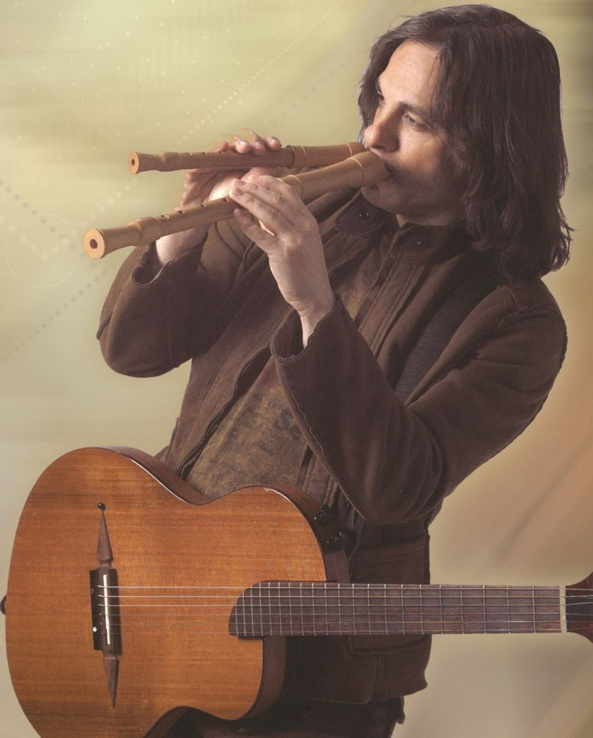 David Young, internationally-acclaimed double flutist, singer and songwriter